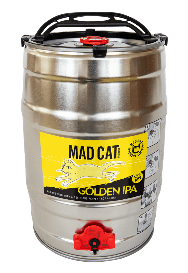 golden ipa minikeg trade